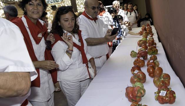 IX Concurso de Tomates 'el Feo de Tudela'