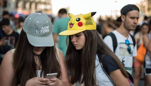 Quedada de Pokémon Go en la Puerta del Sol de Madrid
