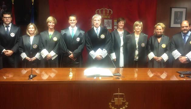 Jura el cargo el último juez de la Escuela Judicial con destino en Navarra