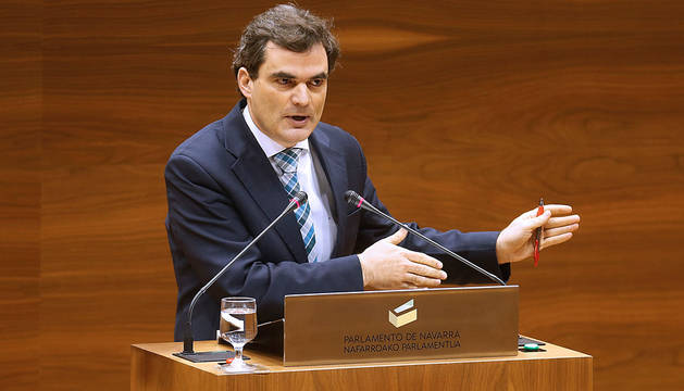 El parlamentario de PSN Guzmán Garmendia.