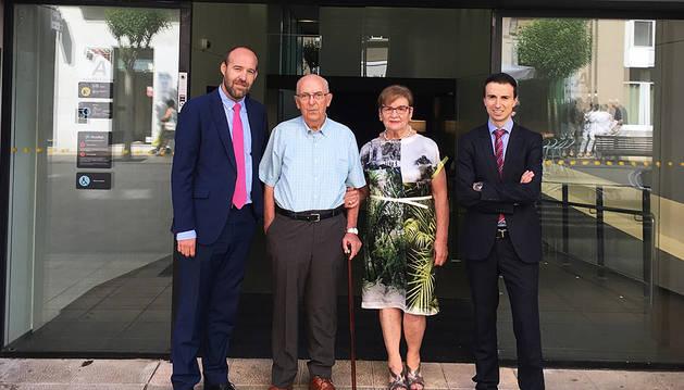 Un jubilado de Estella gana una pensión de un año sorteada por CaixaBank