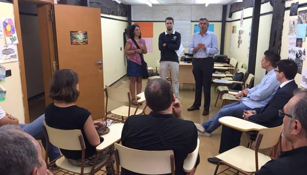 Más de cien personas asisten a los cursos organizados en Lekunberri por el SNE