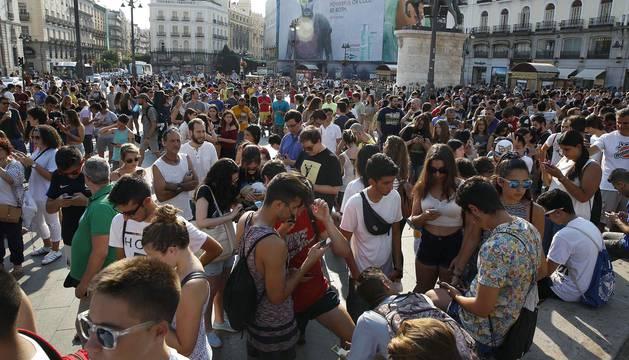 Madrid bate el récord de Sidney de quedada de Pokémon Go