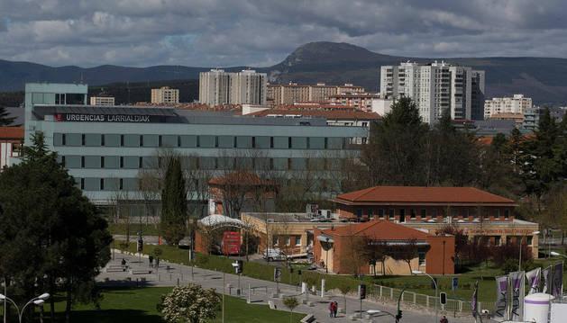 Edificio del Banco de Sangre de Navarra.