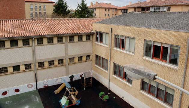 Uno de los colegios que recibirá la ayuda de Educación.