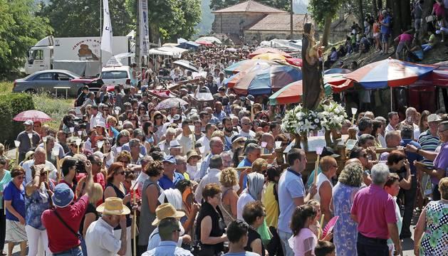 Desfile de ataúdes en Galicia