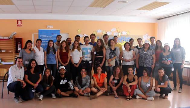 Se inicia en Alsasua el curso de formación para voluntarios del programa Erasmus+