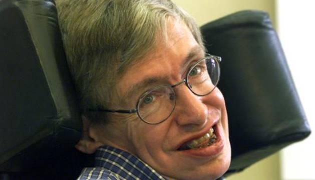 Stephen Hawking, físico británico.