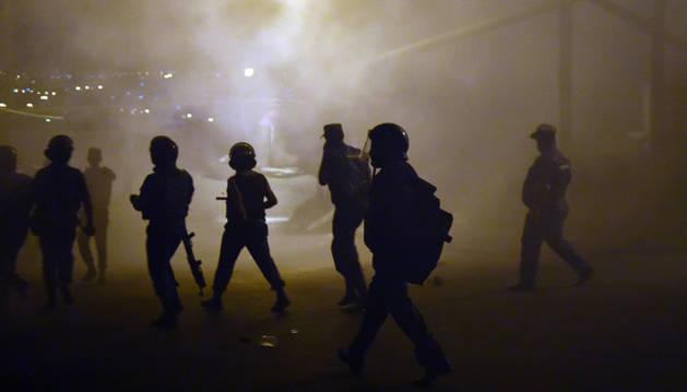 Disturbios en Ereván.