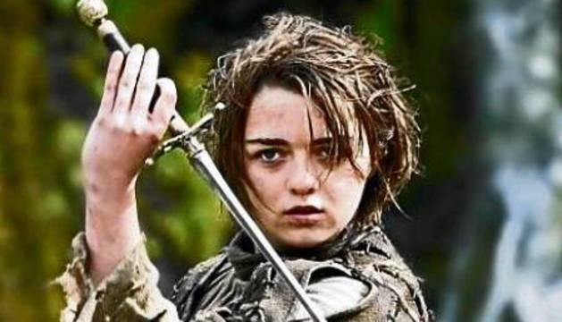 Arya Stark, de la serie 'Juego de Tronos'.