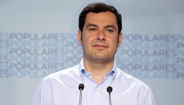 Juanma Moreno pide