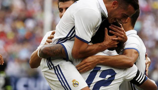 El Real Madrid empieza a coger ritmo (3-2)
