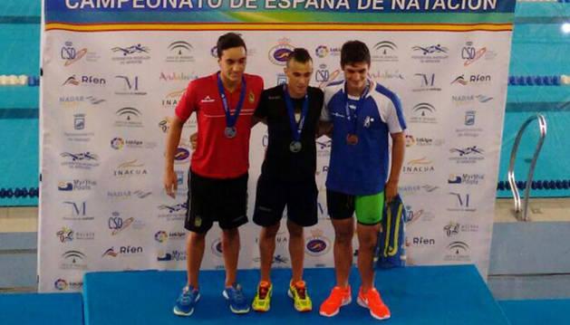 Oro navarro en el XXXVIII Campeonato de España Infantil de natación