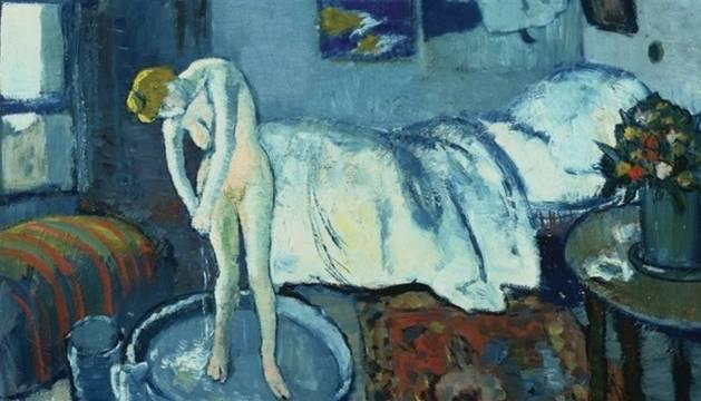 'La habitación azul', de Picasso.