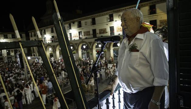 El tudelano popular José luis riega cerró las fiestas.