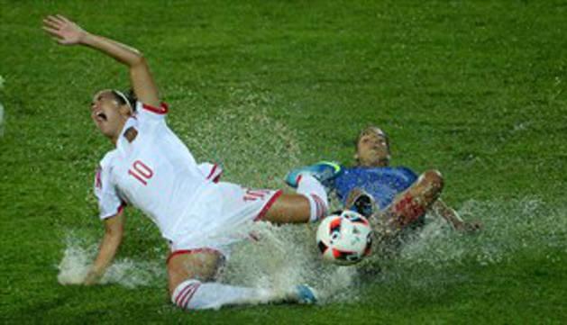Maite Oroz se queda sin el triunfo en la final del europeo sub19