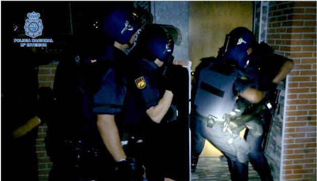Cinco detenidos por saquear el Banco de Alimentos de Jerez