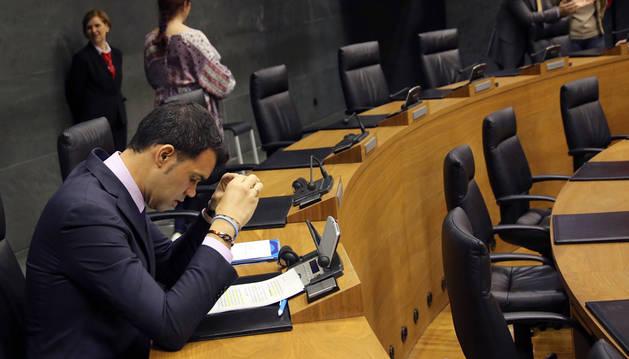 Javier García (PP) reprocha al Gobierno de Barkos su