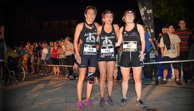Ana Cruz, Inma Cruz y Ane Eltzaurdia fueron las tres primeras.