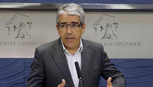 El portavoz parlamentario de CDC, Francesc Homs.