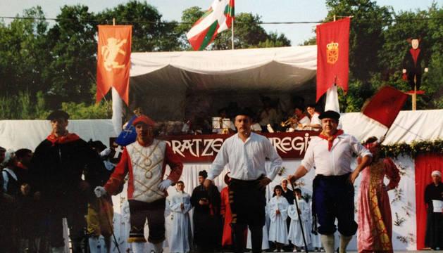 Representación de la pastoral común anterior, en 1997.