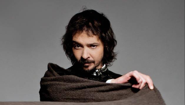 Juanan Lumbreras, caracterizado como Horacio, el personaje que interpreta en Las harpías en Madrid.