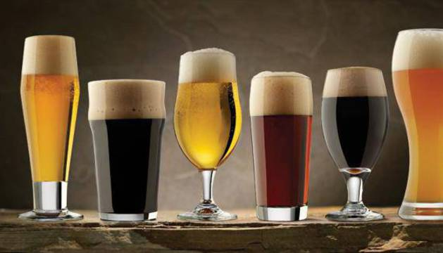 Distintos tipos de cerveza.