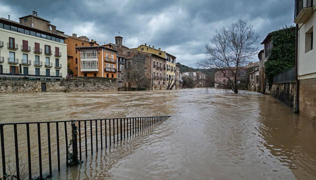 Navarra recibe una ayuda de 683.558 euros por los temporales de 2015