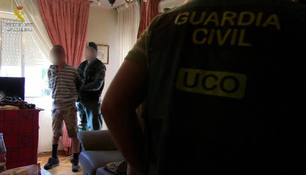 Nueve detenidos en Madrid, Huelva y Orense por captar menores para la prostitución