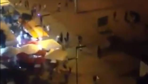 Pánico en Platja d'Aro al confundirse un 'flashmob' con un atentado terrorista
