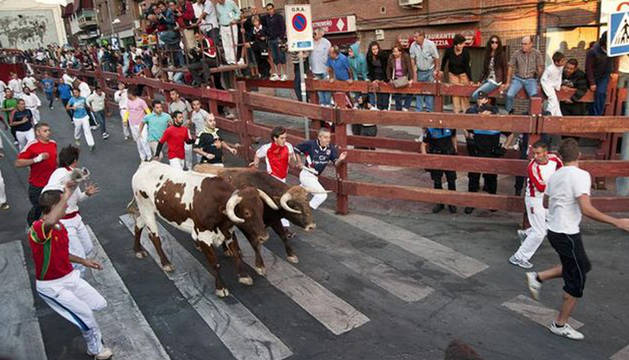 San Sebastián de los Reyes promociona sus encierros en Pamplona