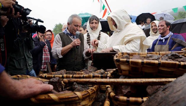 Urdax celebra el 'Día del Hierro' con charlas y recreaciones