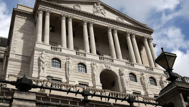 El Banco de Inglaterra (BoE).