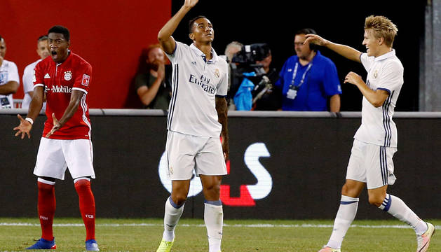 Danilo marcó el gol que dio la victoria al Real Madrid