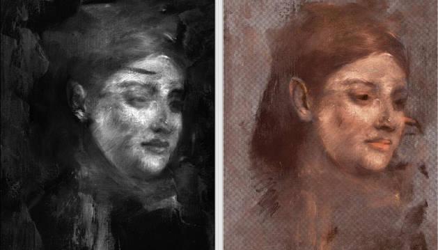 El retrato escondido de Emma Dobigny encontrado en 'Portrait d'une femme',