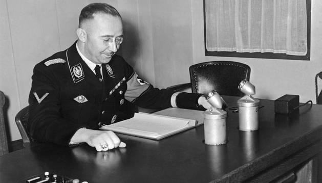 Heinrich Himmler, segundo del régimen nazi.