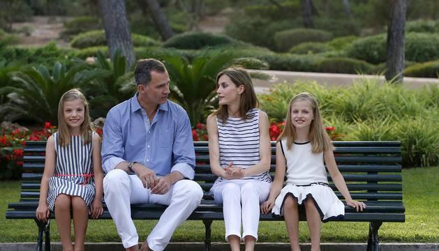 Comienzan las vacaciones de la familia real