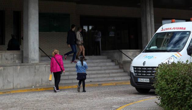 El PSN pide una solución para la seguridad de la unidad de psiquiatría deTudela