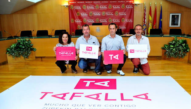 Tafalla se promociona como marca comercial con un logotipo