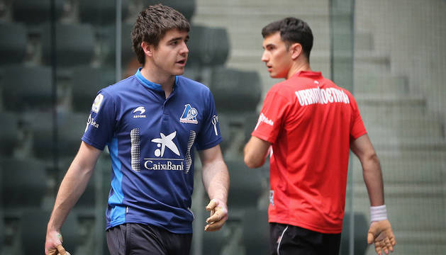 Iker Irribarria y Mikel Urrutikoetxea vuelven a encontrarse.