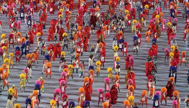 Apertura de los Juegos Olímpicos de Río de Janeiro