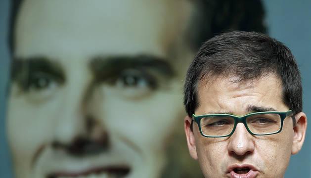 El vicepresidente del Parlament de Cataluña, José M. Espejo-Saavedra.