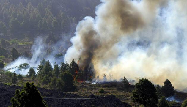 El incendio de La Palma comienza a estar controlado