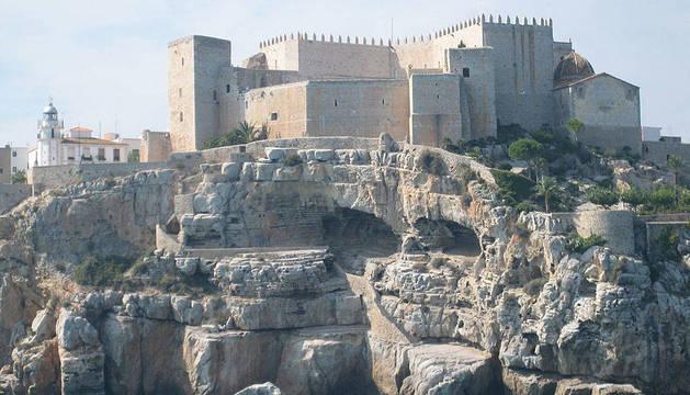 Vista del castillo de Peñíscola.