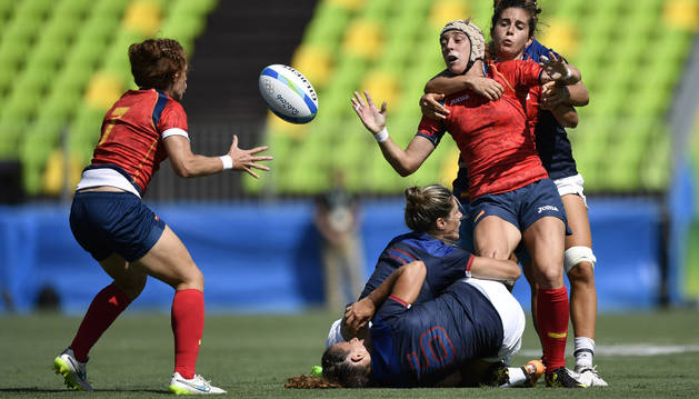 Berta García, contra Francia.