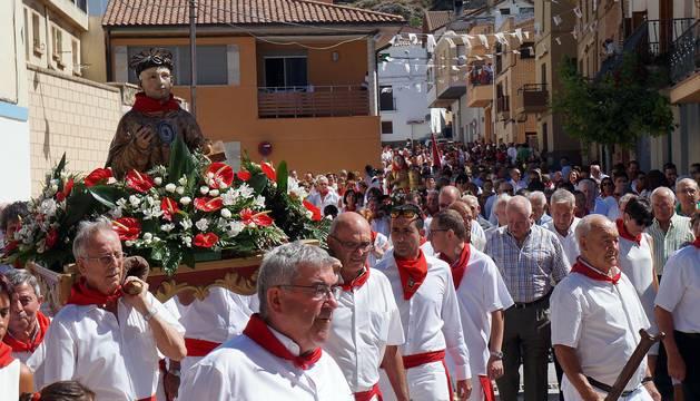 Arguedas celebra el día grande de sus fiestas