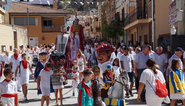 Arguedas celebra el día grande de sus fiestas.
