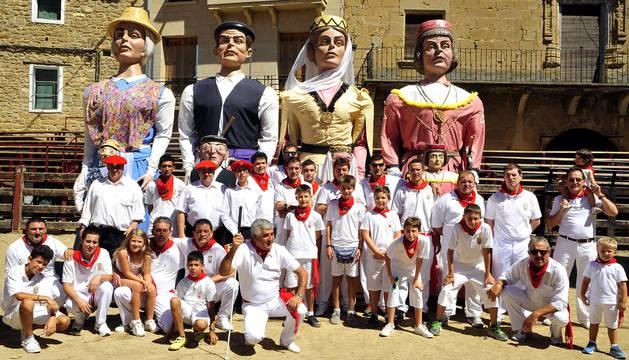 Día de la merindad de las fiestas de Carcastillo de 2016