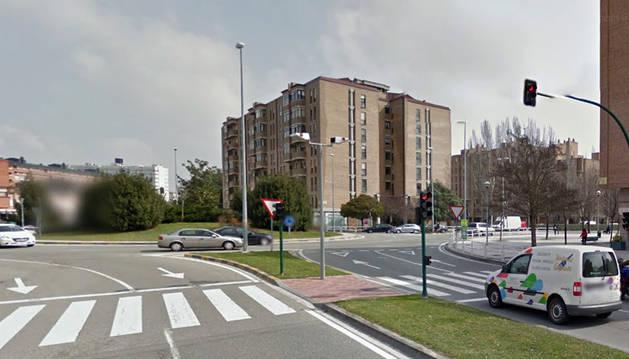 Herida una mujer de 75 años tras ser atropellada en Pamplona