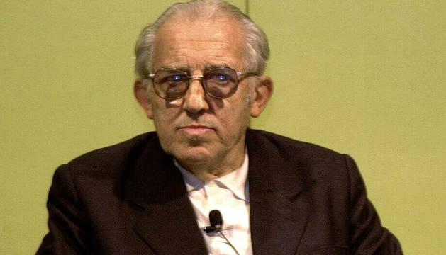 El filósofo Gustavo Bueno, en el año 2000.